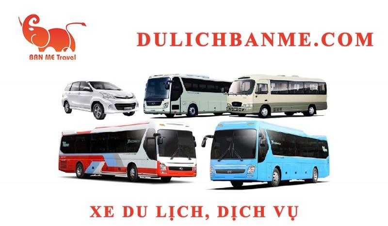 Cho thuê xe du lịch 7 chỗ tại Buôn Ma Thuột, Đak Lak