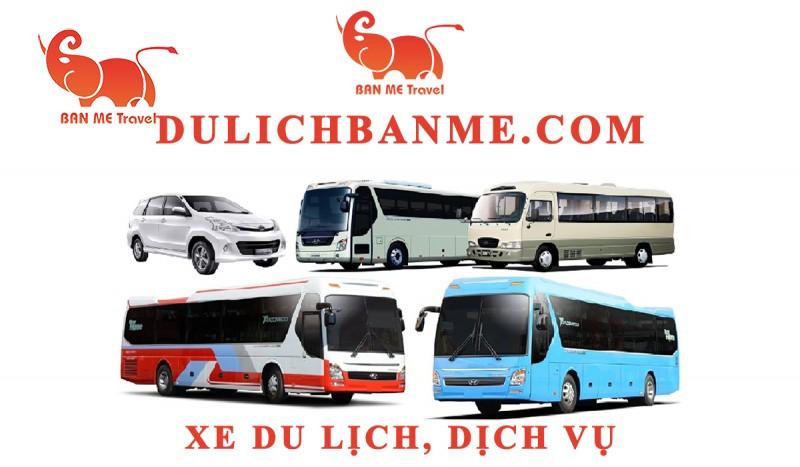 Cho thuê xe du lịch 16 chỗ cao cấp tại Buôn Ma Thuột - Đăk Lăk